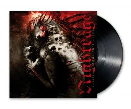 "NIGHTRAGE - ""WEARING A MARTYR'S CROWN"" 12"" GATEFOLD BLACK VINYL"