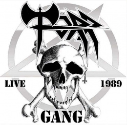 "TÖRR –""Gang Live 1989"" 12"" BLACK LP"