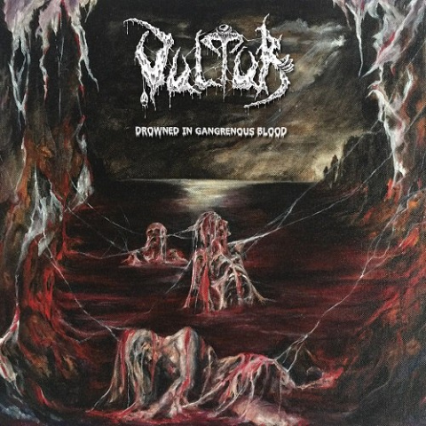 "VULTUR -""Drowned in Gangrenous Blood"" CD"