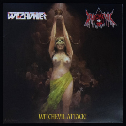 "WITCHUNTER / BLACKEVIL - ""Witchevil Attack!"" 12"" BLACK MLP"