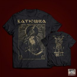 "BATUSHKA - ""SHEMA MONK BLACK"" T-SHIRT"