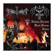 "BLACK BEAST / BLOODHAMMER-""Unholy Finnish Black Horror Union"" CD"