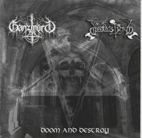 "DODSFERD / GANZMORD -""Doom And Destroy"" CD"