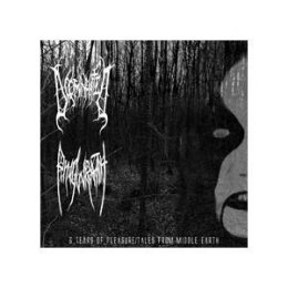 "DOOMINHATED / RINGWRAITH -""6 Tears Of Pleasure / Tales From Middle Earth"" CD"
