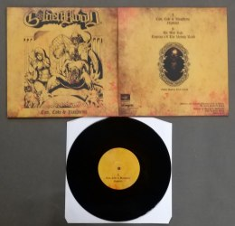 "GOLDEN BLOOD -""Cum, Coke & Blasphemy"" 10"" MLP BLACK VINYL"