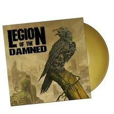 "LEGION OF THE DAMNED -""RAVENOUS PLAGUE"" 12"" GATEFOLD YELLOW LP"