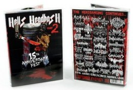 "SATANIC WARMASTER / ARCHGOAT / INQUISITION / MIDNIGHT -""Hells Headbash - Part 2: 15th Anniversary Festival"" DOUBLE DVD"