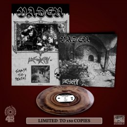 "VADER -""LIVE IN DECAY"" 12"" GATEFOLD GOLD MARBLED LP (PRE-ORDER)"