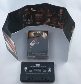 "VADER -""The Darkest Age-Live`93"" BLACK TAPE"