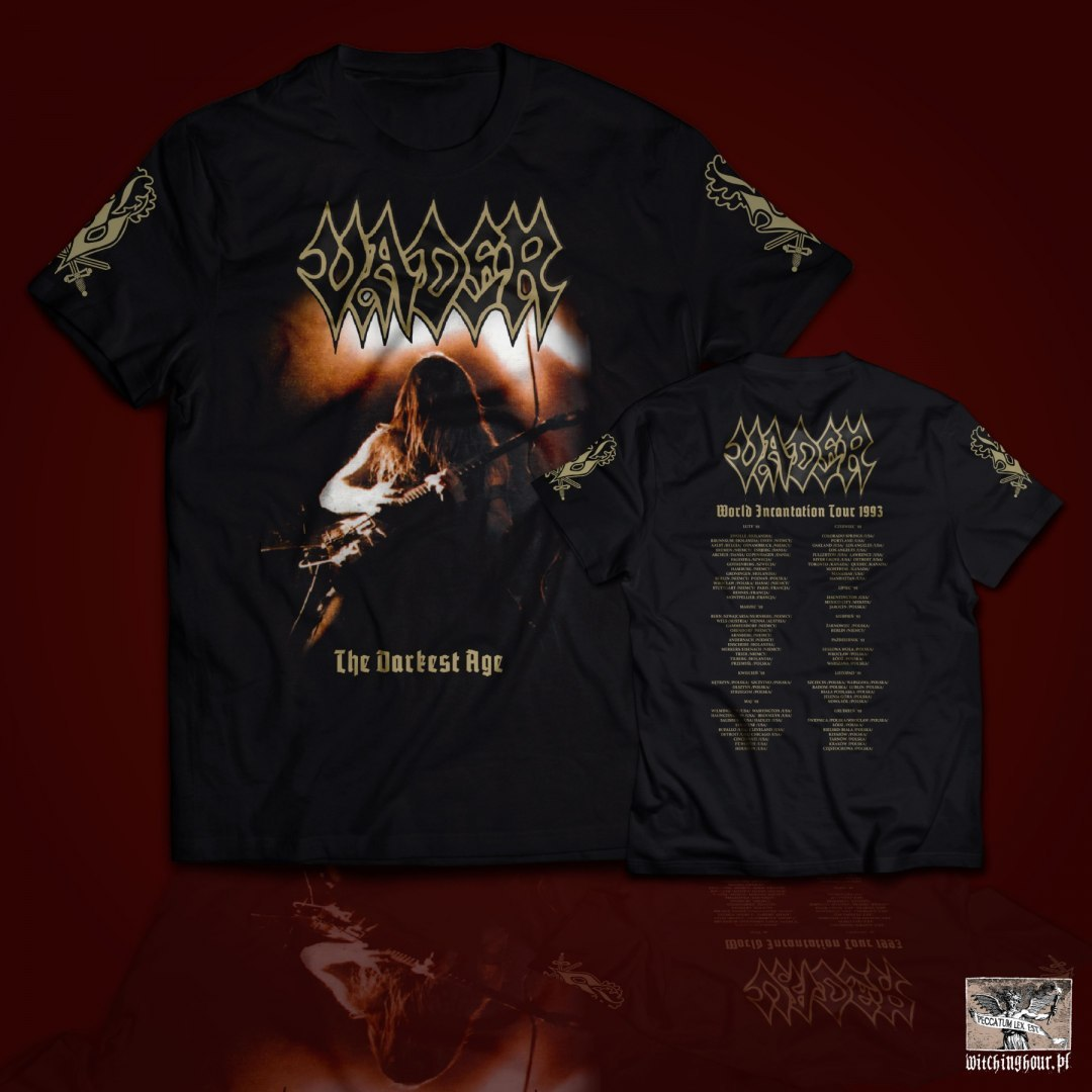 "VADER -""The Darkest Age - Live`93"" T-SHIRT"