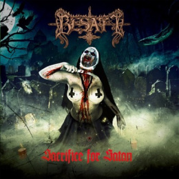 "BESATT - ""Sacrifice for Satan"" CD"