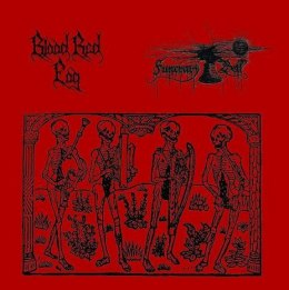 "BLOOD RED FOG/FUNERARY BELL -"" SPLIT"" CD"