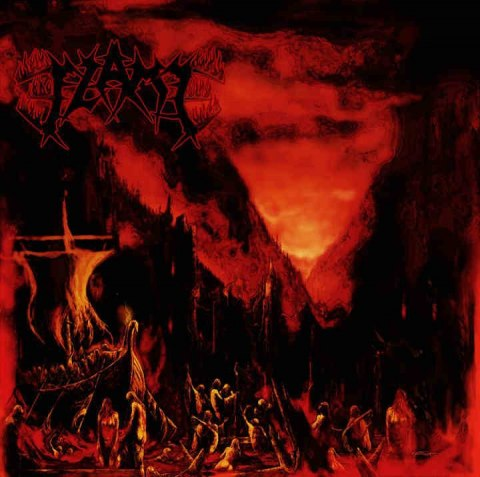"FLAME-""March Into Firelands"" CD"