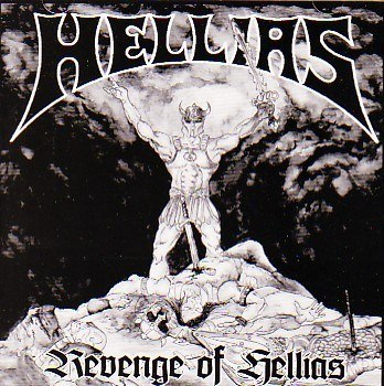 "HELLIAS-""Revenge of Hellias"" CD"