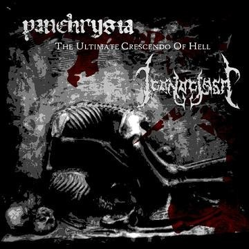 "PANCHRYSIA / ICONOCLASM-""The Ultimate Crescendo of Hell"" SPLIT CD"