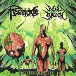 "ACID SPEECH/PESTICIDE -""Corrosive Warfare"" CD"