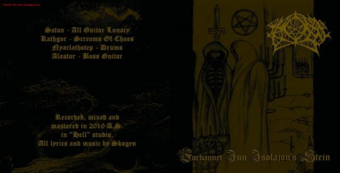 "SKOGEN -""Forbannet Inn Isolation's Stein"" CD"