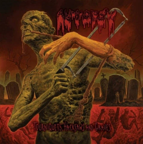 "AUTOPSY -""Tourniquets, Hacksaws and Graves"" SLIPCASE CD"