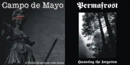 "CAMPO DE MAYO / PERMAFROST -""A Blindfold Stained with Blood / Haunting the Forgotten"" CD"