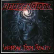 "BROKEN GLAZZ -""Withdraw from Reality"" CD"