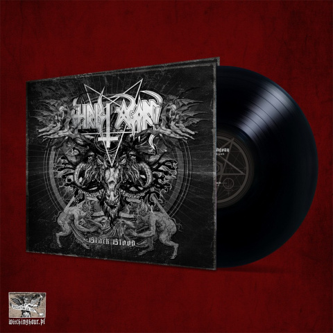 "CHRIST AGONY -""Black Blood"" 12"" GATEFOLD LP"