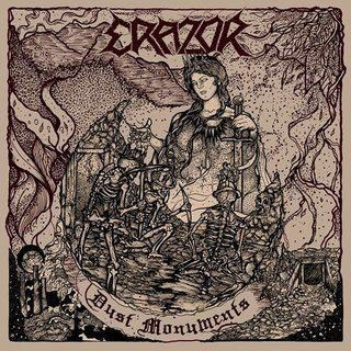 "ERAZOR -""Dust Monuments"" CD"