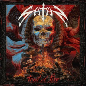 "SATAN - ""'Trail of fire - Live in North America"" SLIPCASE CD"