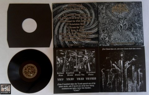 "MORTHUS -""Over The Dying Stars"" 12"" GATEFOLD BLACK LP"