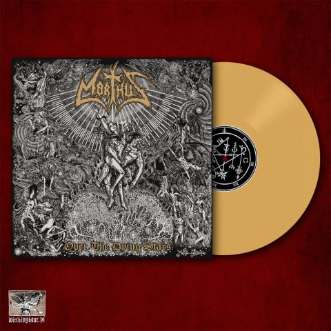 "MORTHUS -""Over The Dying Stars"" 12"" GATEFOLD GOLD LP"