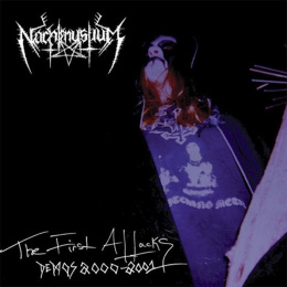 "NACHTMYSTIUM -""The First Attack DEMOS 2000-2001"" CD"